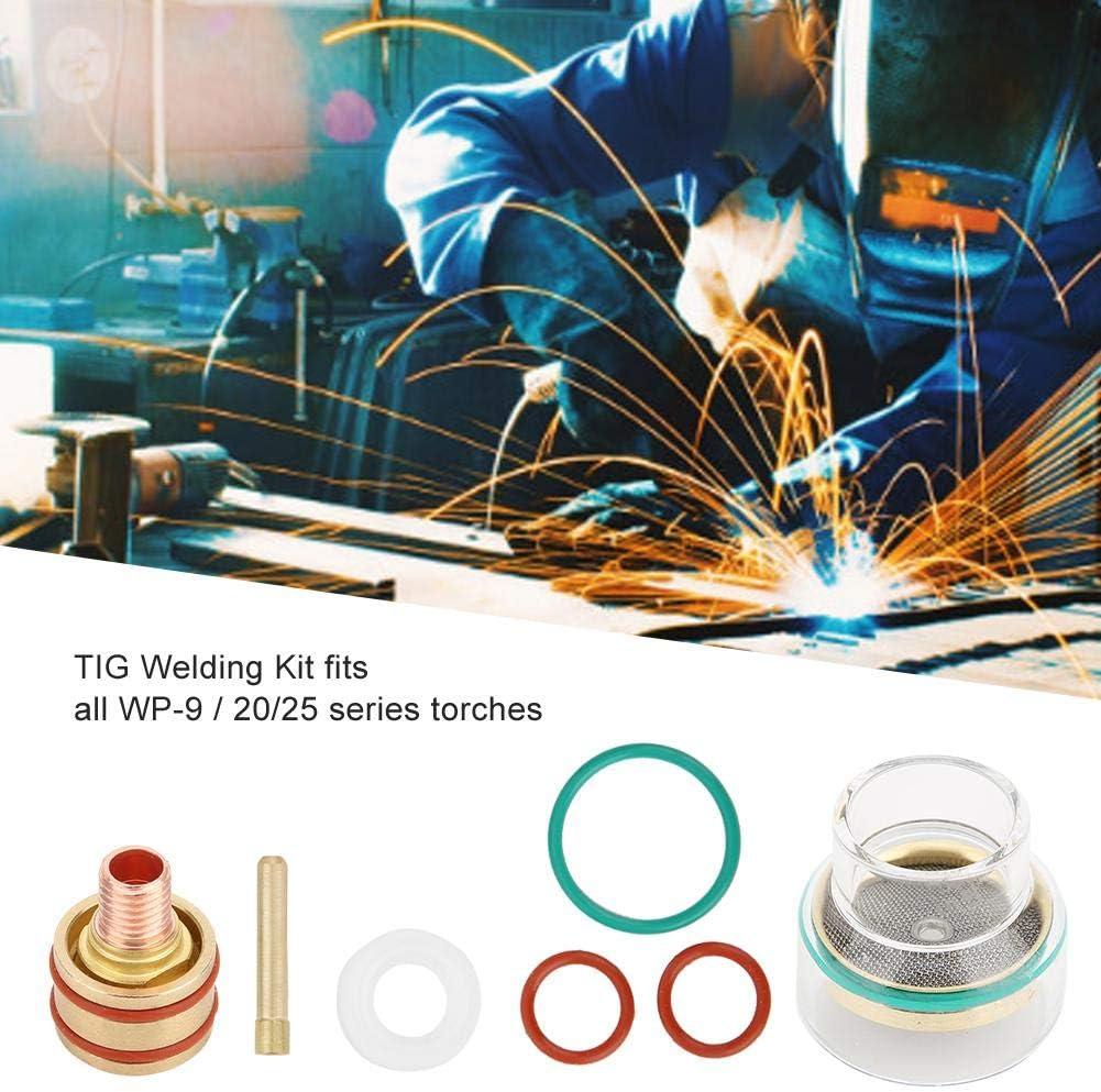 TFM53NCN TIG Kit de soudage Torche de soudage Coupe en verre Collet pour WP9 WP20 /Équipement de soudage 3.2mm