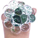 Fancyku Anti Stress Mesh/Bulb Spongy Ball Toy Grape Stress Relief Squeezing Ball (Transparent)