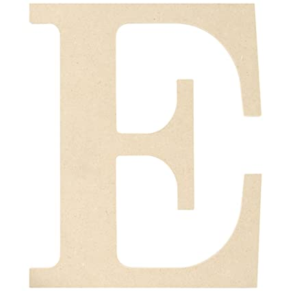 Amazon.com: MPI MDF Classic Font Wood Letters and Numbers, 9.5
