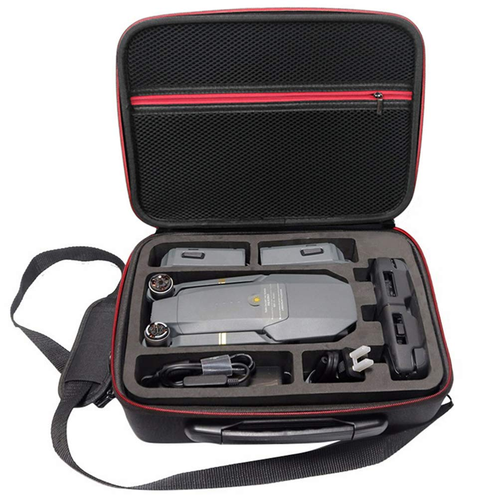 Soyan Carrying Case for DJI Mavic Pro Platinum/Mavic Pro, Fits Drone, Remote Controller, Batteries and Accessories (Black) by Soyan