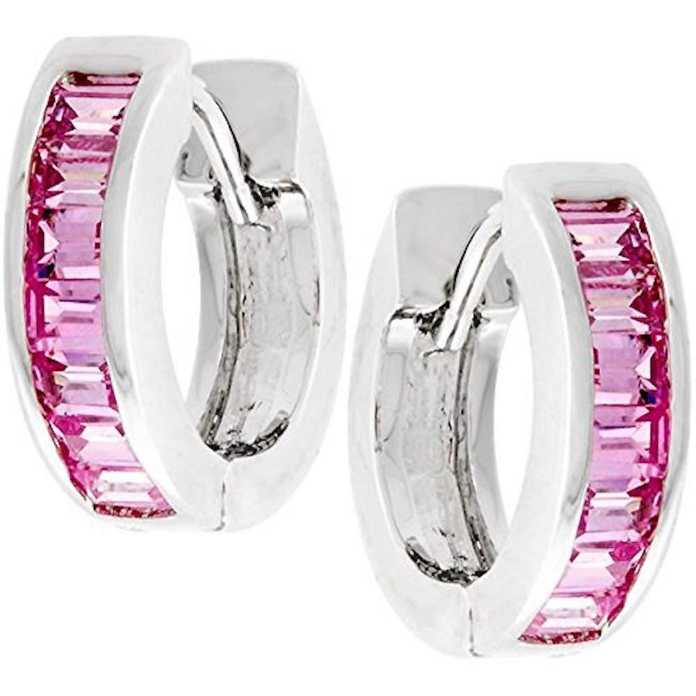 Covet Pink Circlet Earrings