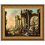 Design Toscano ''The Triumph of Venus, 1730'' Canvas Replica Painting, Medium
