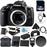 6Ave Canon EOS Rebel T6i DSLR Camera (Body Only) 0591C001 Value Bundle - International Version (No Warranty)