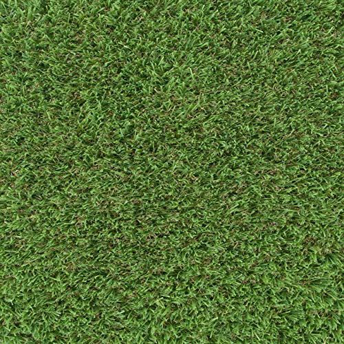 247Floors Drakelow 37mm Realistic Artificial Grass Natural Look Lawn Turf 2m 4m Wide (5m x 4m / 16ft 4″ x 13ft 1″)