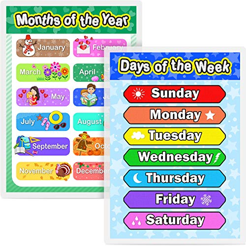 days of the week chart for kids - 8
