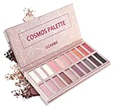 #7: Ucanbe Glittering Cosmos Eye shadow Palette Pro 20 Eyeshadows High Pigmented & Long Wear, Matte + Shimmer Shades for Natural Nude Smoke Makeup (Naked)