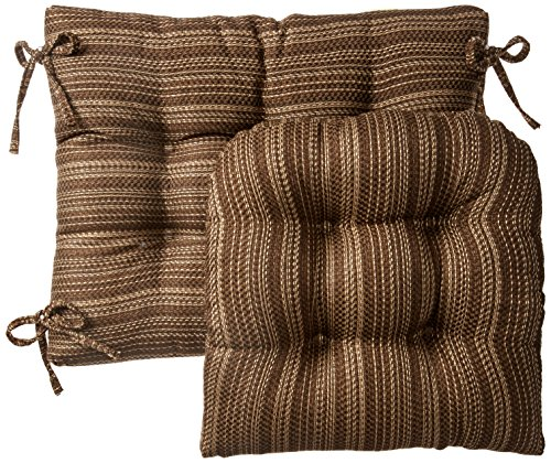 Klear Vu Jumbo Scion Gripper Non Slip Rocking Chair Cushion and Padding, 17
