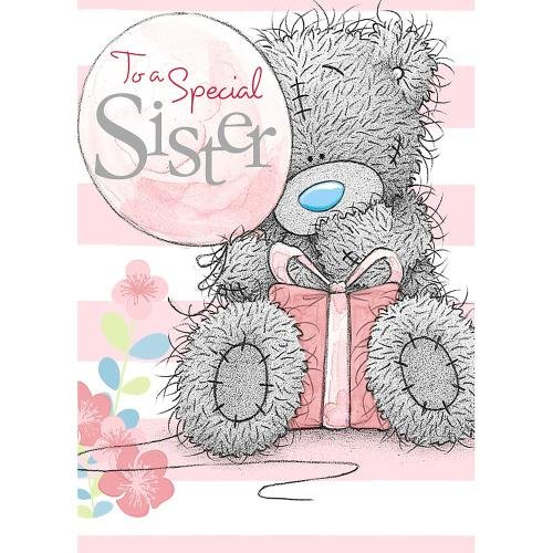 Sister Birthday Me to You Bear Card Amazoncouk Office Products – Me to You Birthday Card