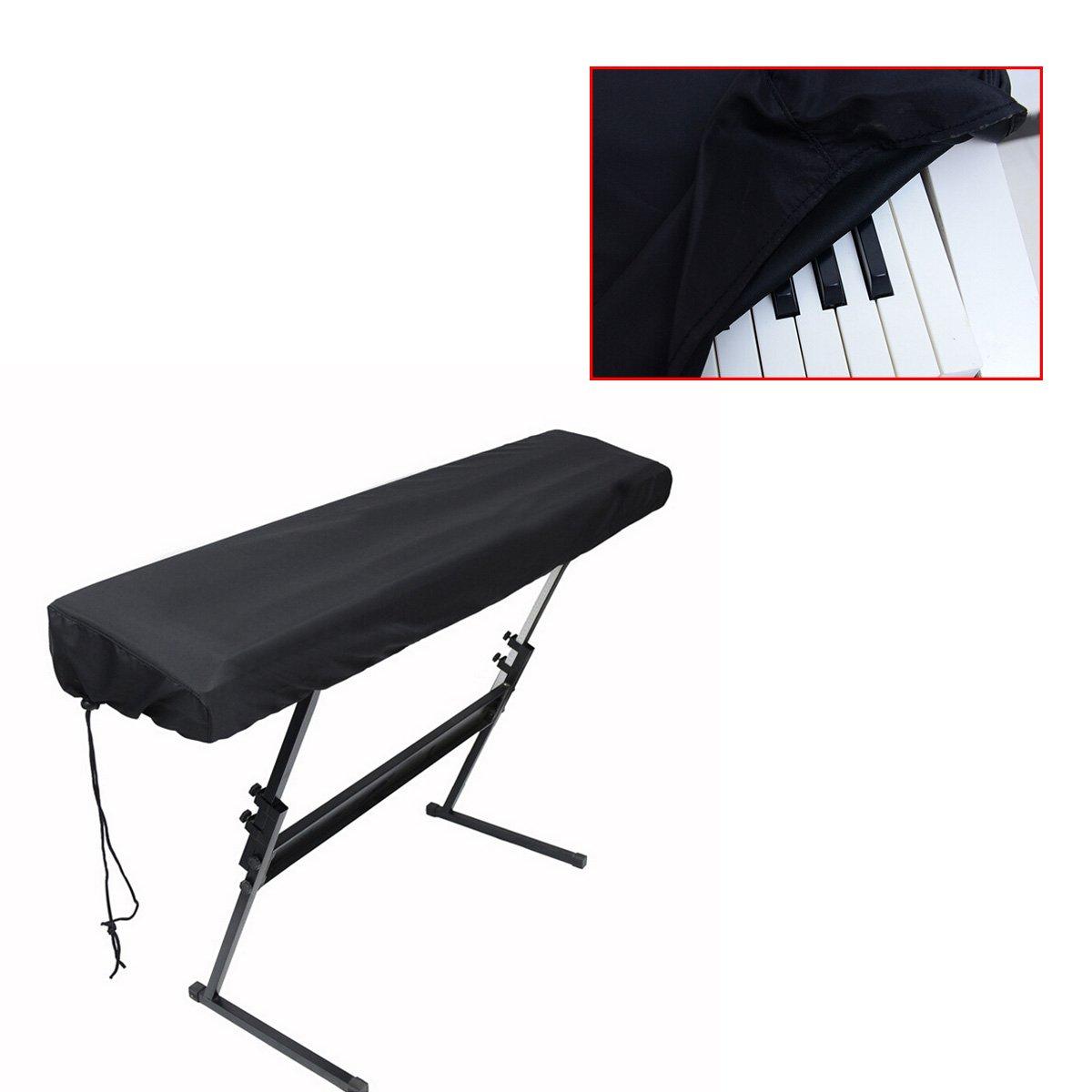 Cadillaps – Funda antipolvo para teclados de 61 y 88 teclas, color negro: Amazon.es: Instrumentos musicales