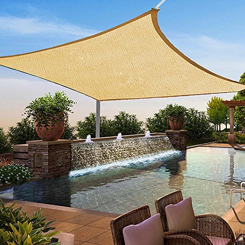Square Blocking Outdoor Garden Canopy