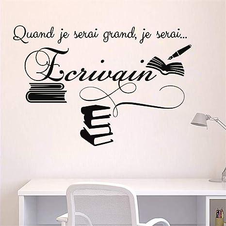 pegatinas de pared tortugas ninja Cita en francés Quand Je ...
