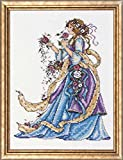Design Works Crafts Rose Lady, 9'' x 12'' Counted Cross Stitch Kit