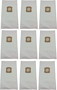 Household Supplies & Cleaning,Vacuum Cleaner Bags (9) Vacuum Bags for Kirby Ultimate G, Diamond Edition, HEPA Micron Cloth White