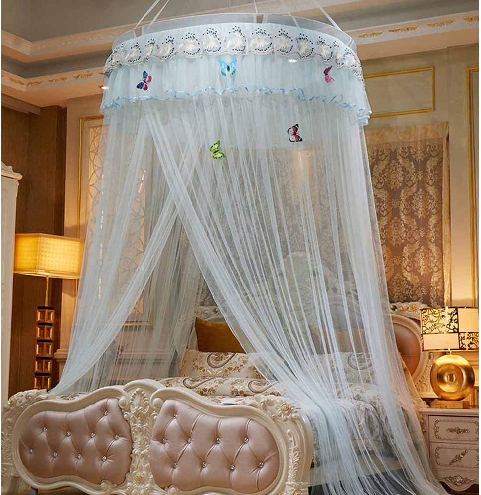- Amazon.com: POPPAP Bed Canopy Mesh Curtains Bedroom Decor Dream
