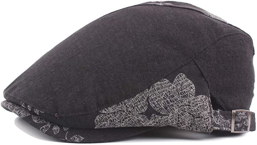 SXBag Painter Hat Beret Cap Autumn Winter Cotton Regular Solid Color Unisex Hat National Wind Cap`