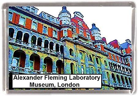 Alexander Fleming laboratorio Museo regalo de recuerdo imán para ...