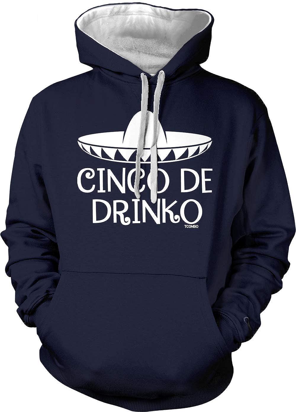 Sombrero Drinking May 5th Unisex Hoodie Sweatshirt Cinco De Drinko