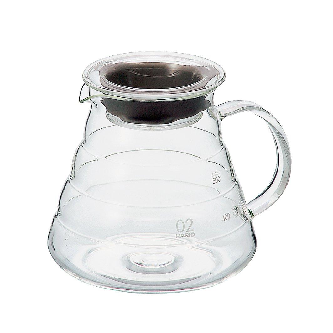 Hario V60''Clear'' Glass Range Coffee Server, 600ml