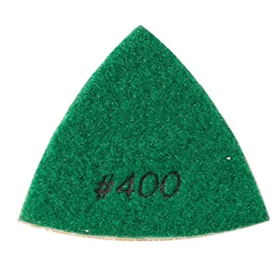 Specialty Diamond BRTTD400 Diamond Triangular Dry Pad, 400 Grit: Home Improvement