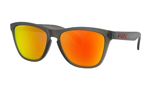 Oakley Frogskins - Gafas de sol polarizadas, color gris mate ...