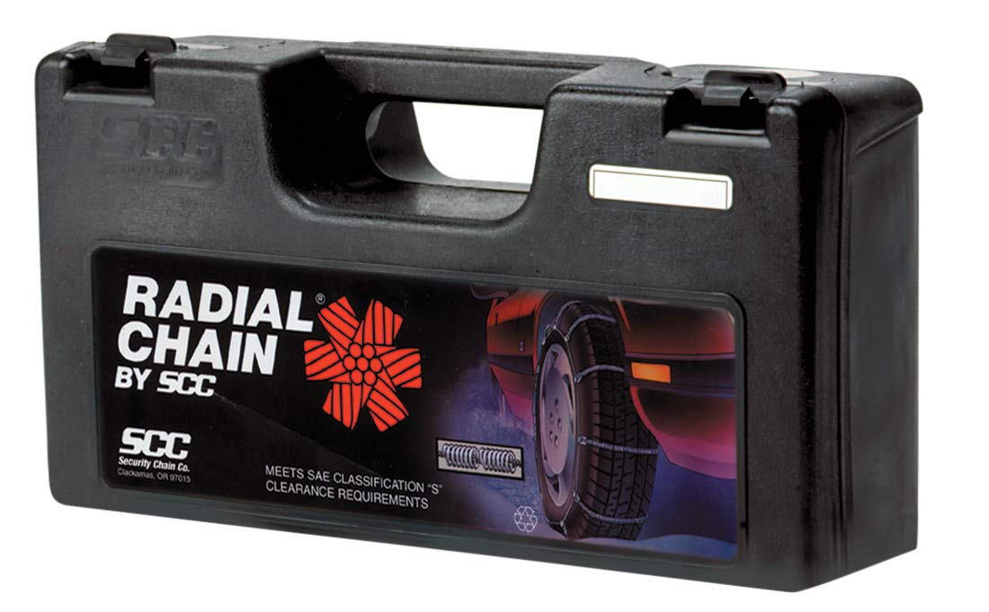 Set of 2 Security Chain Company SC1038 Radial Chain Cable Traction Tire Chain