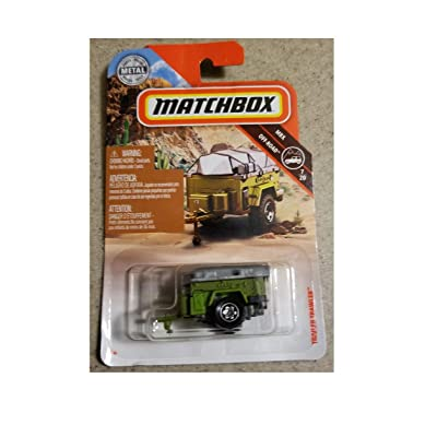 Matchbox 2020 MBX Off Road 7/20 - Trailer Trawler (Green: Toys & Games