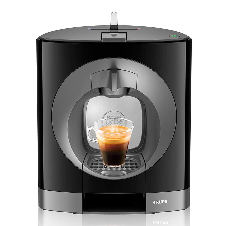 manuell schwarz General/überholt Krups KP 1108 Nescaf/é Dolce Gusto Oblo Kaffeekapselmaschine
