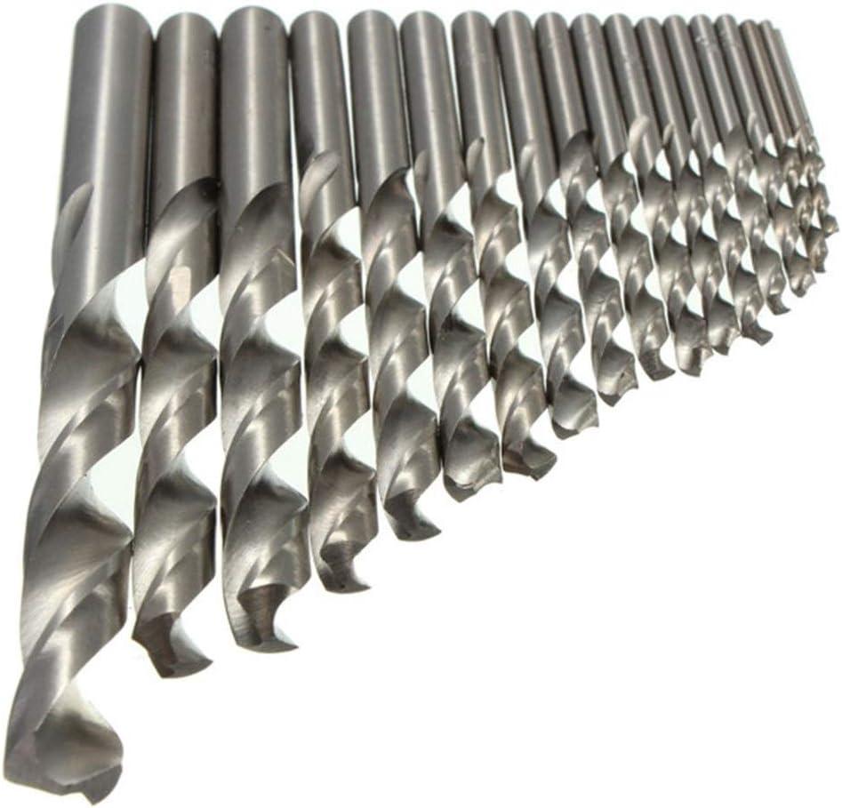 Drill Bits Twist Drill Bits 1mm-8.5mm HSS Twist Drill Bit Auger Bit straight Shank for Electrical Drill Drill Tool LLLNHQ Size : 3mm