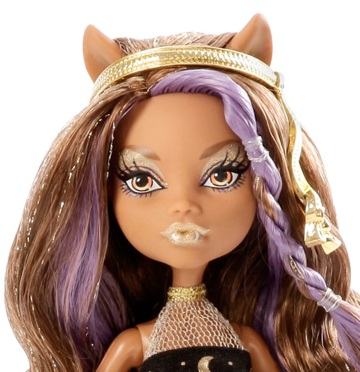 Monster high 13 wishes haunt the casbah - Clawdeen wolf pyjama party ...