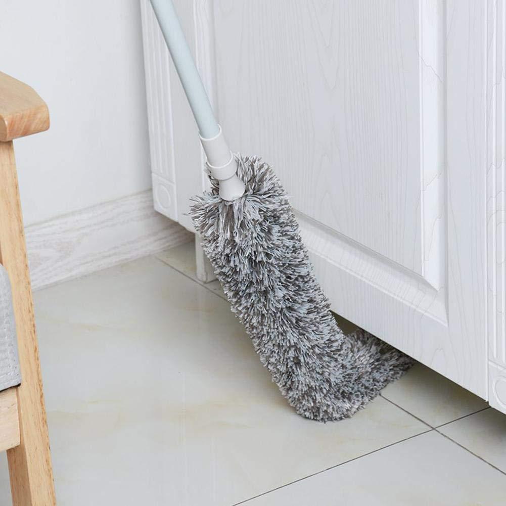 Loveinwinter Plumero Extensible 1,79 m Coches de la Familia para Eliminar el Polvo con un Plumero Colector de Polvo Flexible Lavable