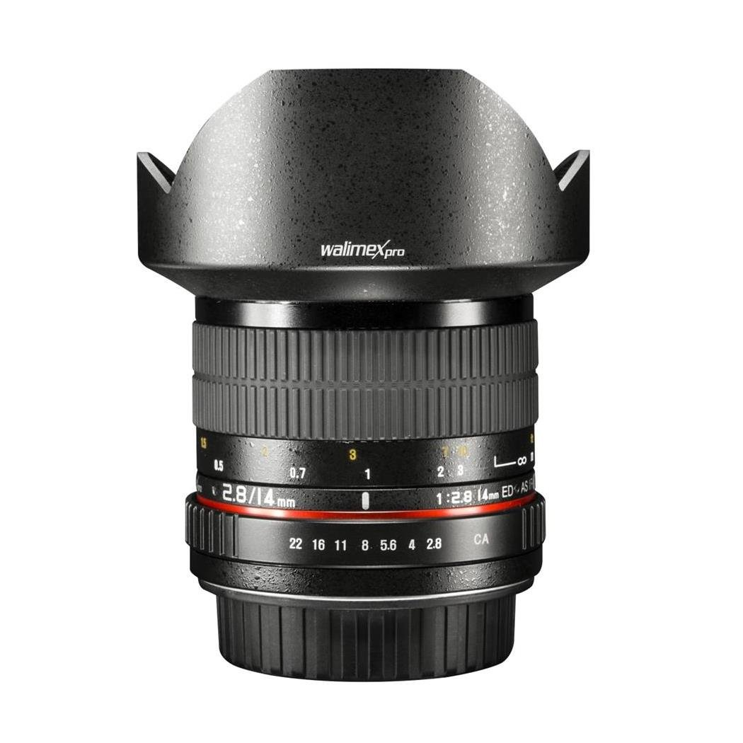 walimex pro 14mm f//2.8 Wide Angle Lens for Canon EF