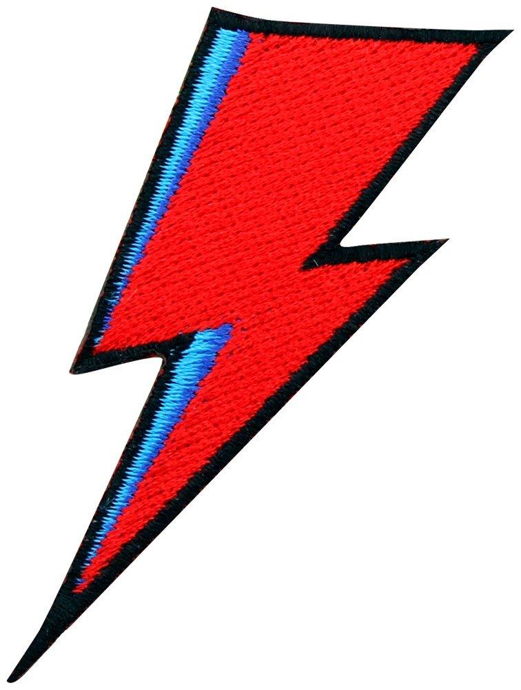 Extreme Largeness Bowie Lightning Bolt Patch 3x8.5cm