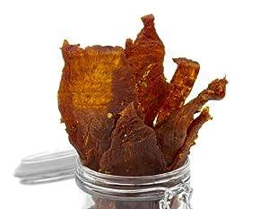 Mission Meats Paleo Sriracha Free Range Turkey Jerky | Hand Crafted & Small Batch. MSG Free, Nitrate & Nitrite Free (Kickin' Sriracha Turkey Jerky, 6 pack)
