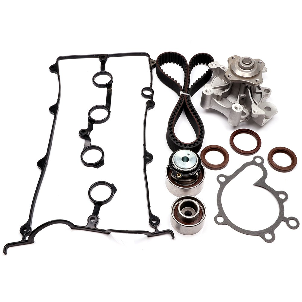 SCITOO Engine Timing Part Belt Set Timing Belt Kits, fit Ford Mazda 626 MX-6 Protege Replacement Timing Tools Water Pump Valve Cover Gasket Kit FS 110215-5206-1356494461