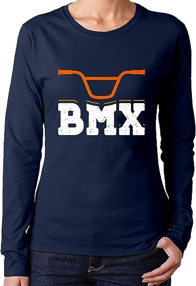 BMX Bike Rider Racing Bicicleta Mujer Algodón Manga Larga ...