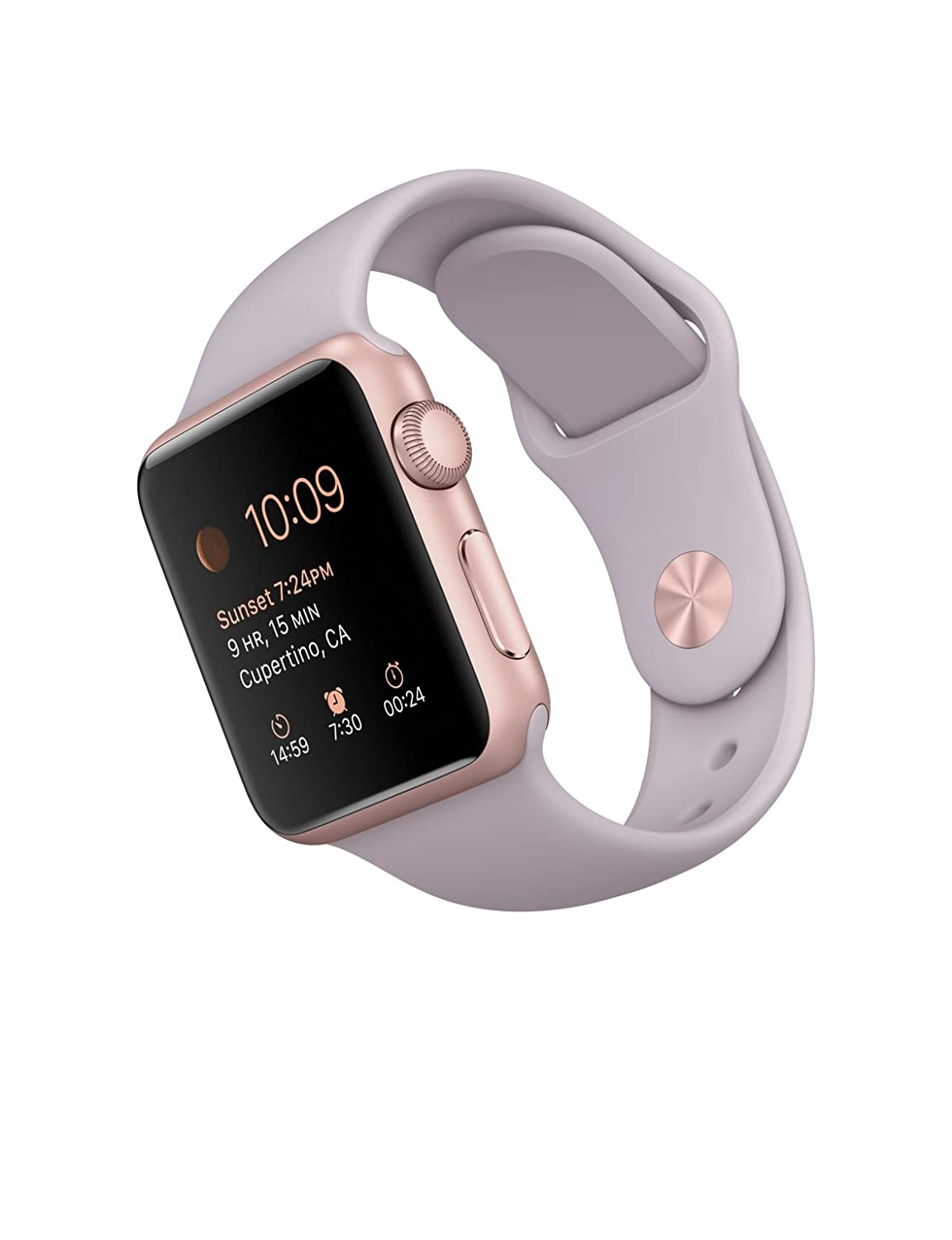 Apple Watch Sport 38mm Rosegold Aluminum Case With Amazon In Electronics