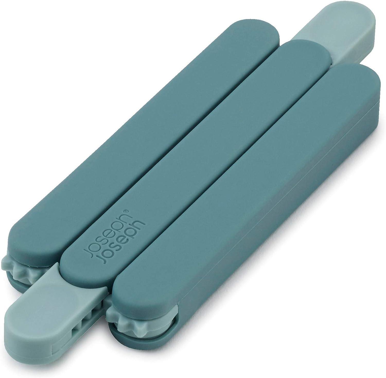 Azul 4.2 x 1.3 x 13.8 cm Joseph Joseph Salvamanteles Plegable de Silicona