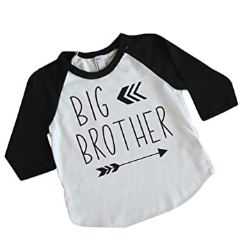 a35b84de Image Unavailable. Image not available for. Color: Big Brother Shirt for  Toddler ...
