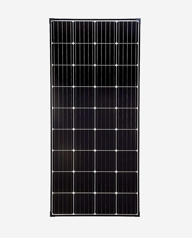 SolarV enjoysolar - Panel solar monocristalino de alta calidad, ideal para caravanas, casas de jardín, barcos (180 W)