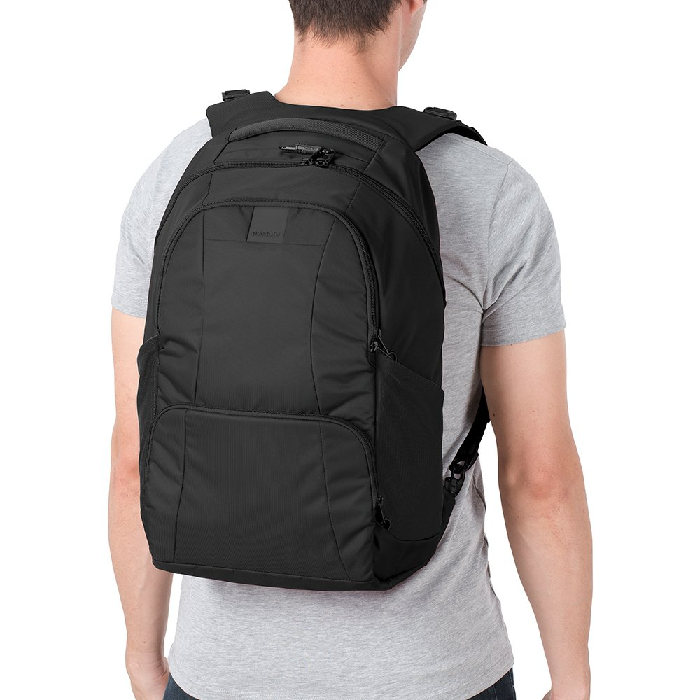 Pacsafe Metrosafe LS450 Anti-Theft 25L Backpack, Black by Pacsafe (Image #6)