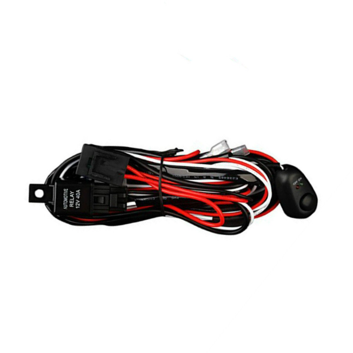 car alarm wire diagram fog light relay wiring wiring library Cornering Light Wiring Diagram amazon com led light bar yitamotor 2 leads car lights wiring harness heavy duty