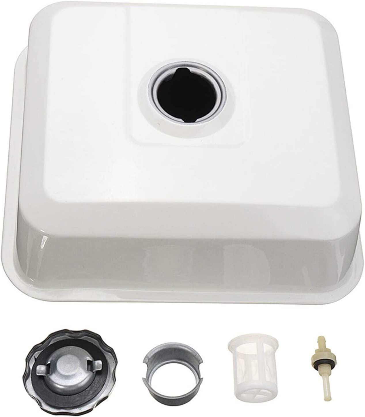 Outdoors & Sqares Fuel Tank Replace Honda GX340 GX390 11 13 HP Engines with Cap