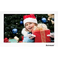 Kenuo Digital Photo Frame 12 inch Digital Picture Frame IPS 16:10 Screen with HD 1920X1080 Electronic Picture Frame Advertising Player with Remote Control/Calendar/Clock/Auto On/Off Timer(White)