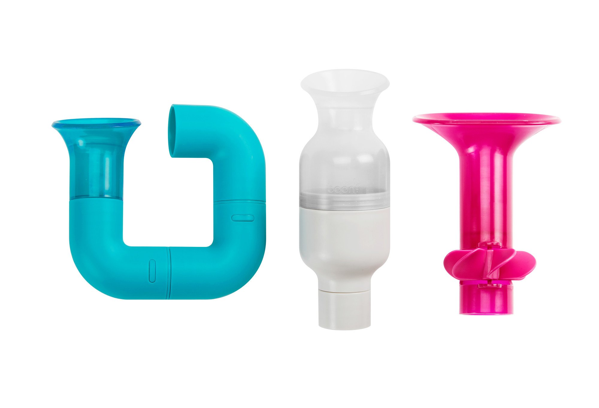 Amazon.com : Boon Building Bath Pipes Toy Set, Set of 5 : Baby