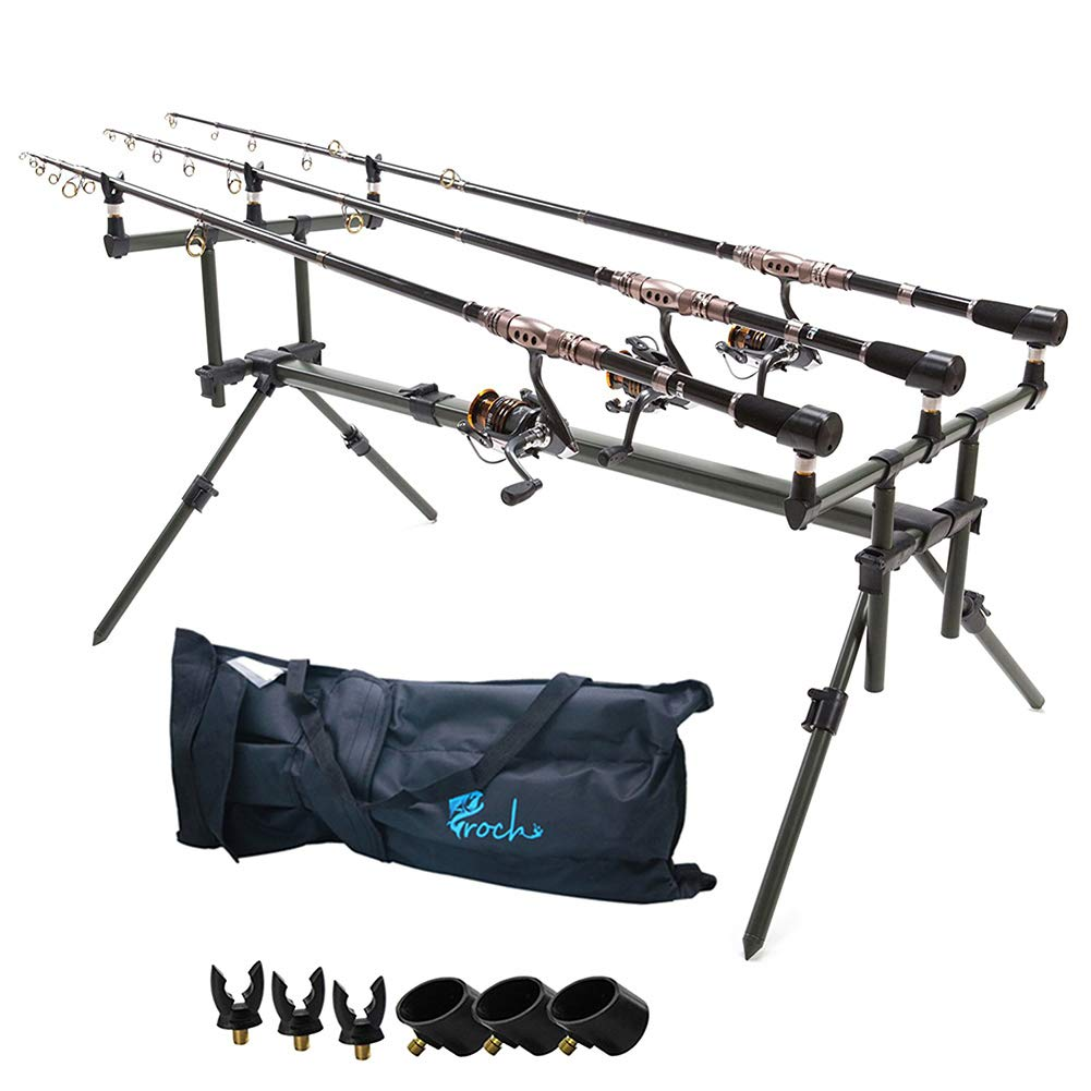 Croch Aluminium Carp Fishing Specialist Goal Post Style Rod Pod Fishing