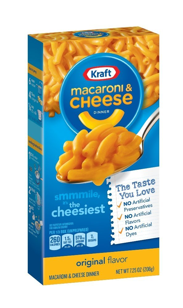 Kraft Macaroni & Cheese Dinner, Original, 7.25 oz