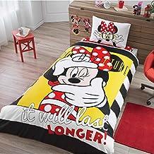 Mickey Minnie Selfie Bedding Duvet Cover Set New Licensed 100% Cotton / Disney Minnie Selfie Twin Size Duvet Cover Set / Mickey Mouse Bedding Set 3 PCS