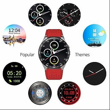 Relojes Intelligent Fitness Tracker con Sedentario Recordatorio,calorías quemadas,Sleep Monitor,Control de Música,Contador de Pasos,Pulsera de actividad ...
