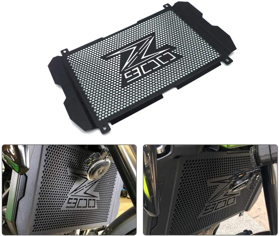 RONSHIN Motorcycle Accessories Radiator Grille Cover Guard for Kawasaki Z900 Z 900 2017 2018 2019