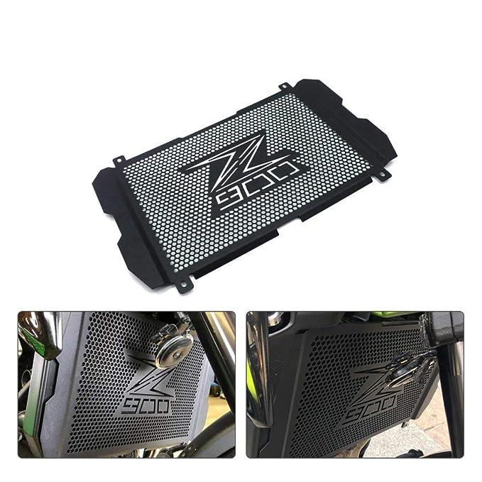 RONSHIN de Acero Inoxidable Protector de Rejilla para radiador de Motocicleta para Kawasaki Z900 2017 2018 2019